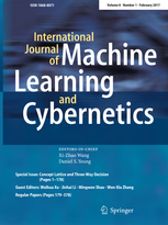 International Journal of Machine Learning and Cybernetics template (Springer)