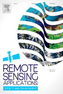 Remote Sensing Applications: Society and Environment template (Elsevier)