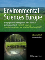 Environmental Sciences Europe template (Springer)