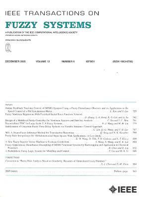 IEEE Transactions on Fuzzy Systems template (IEEE)