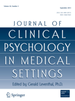 Journal of Clinical Psychology in Medical Settings template (Springer)