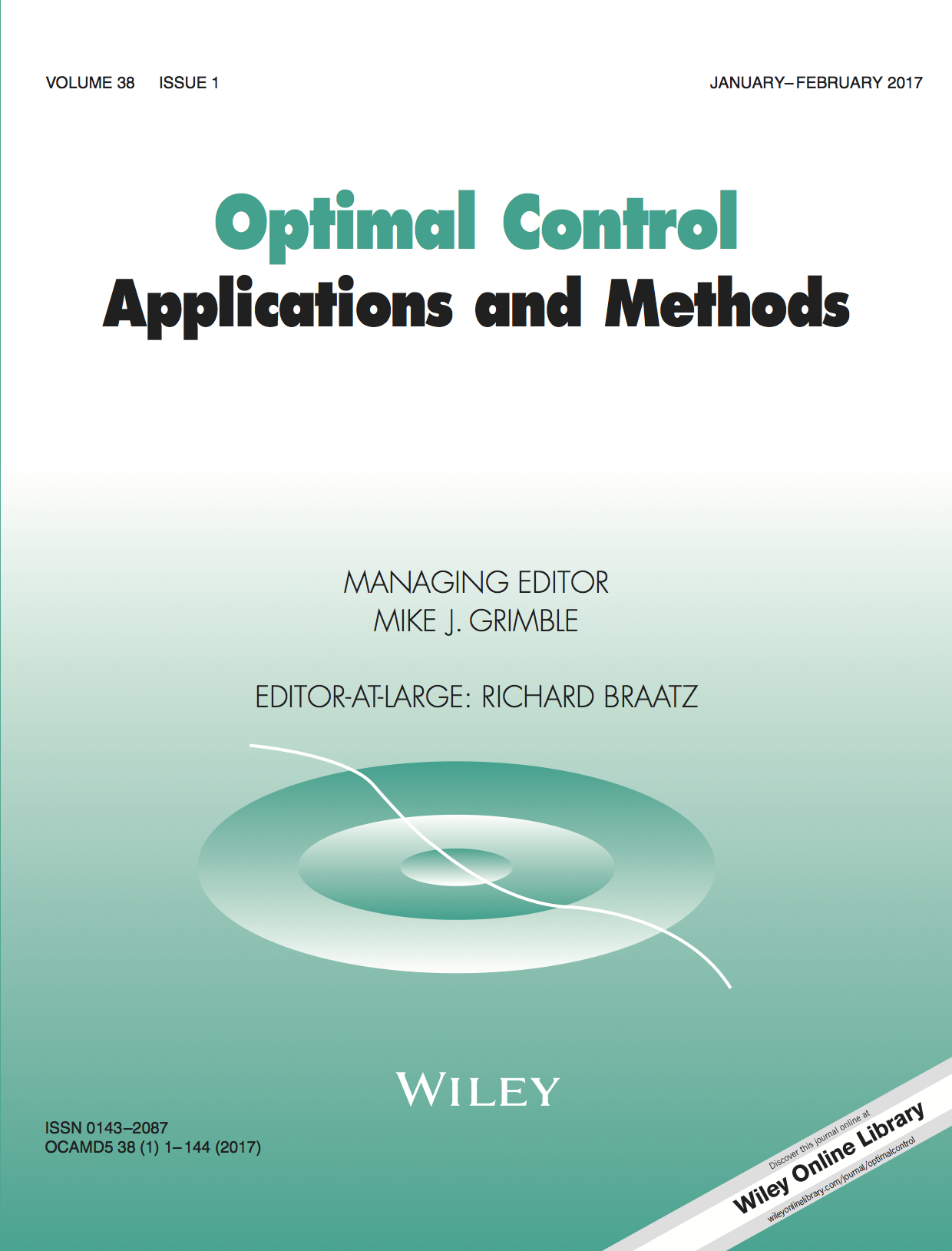 Optimal Control Applications and Methods template (Wiley)