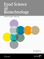 Food Science and Biotechnology template (Springer)