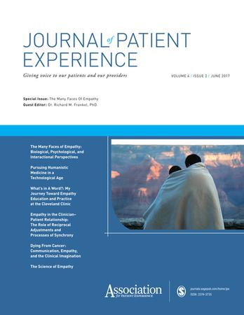Journal of Patient Experience template (SAGE)