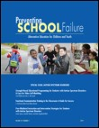 Preventing School Failure: Alternative Education for Children and Youth template (Taylor and Francis)