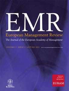European Management Review template (Wiley)