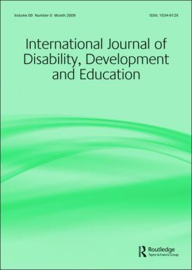 International Journal of Disability, Development and Education template ( Development and Education)