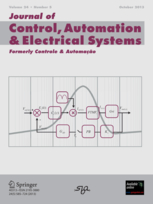 Journal of Control, Automation and Electrical Systems template ( Automation and Electrical Systems)