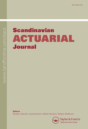Scandinavian Actuarial Journal template (Taylor and Francis)