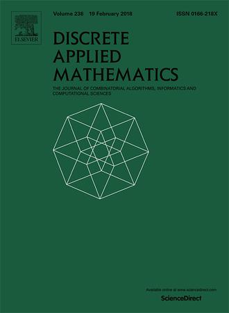 Discrete Applied Mathematics template (Elsevier)