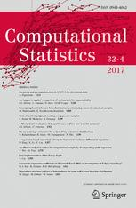 Computational Statistics template (Springer)