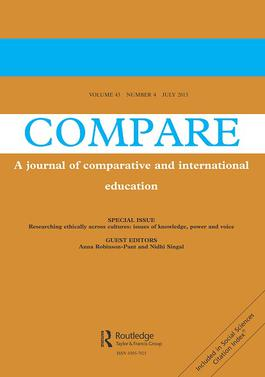 Compare: A Journal of Comparative and International Education template (Taylor and Francis)