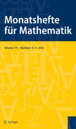 Monatshefte für Mathematik template (Springer)