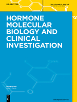 Hormone Molecular Biology and Clinical Investigation template (De Gruyter)