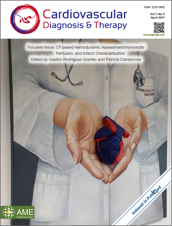 Cardiovascular Diagnosis and Therapy template (AME Publishing Company)