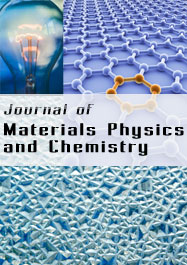Journal of Materials Physics and Chemistry template (Science and Education Publishing)