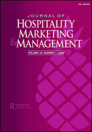 Journal of Hospitality Marketing and Management template (Taylor and Francis)