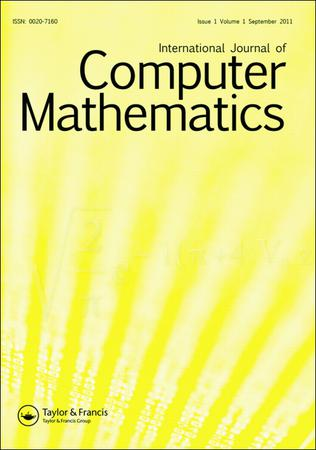 International Journal of Computer Mathematics template (Taylor and Francis)