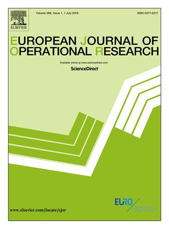 European Journal of Operational Research template (Elsevier)