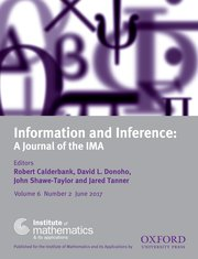 Information and Inference: A Journal of the IMA template (Oxford University Press)