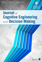 Journal of Cognitive Engineering and Decision Making template (SAGE)