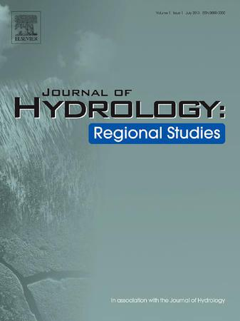 Journal of Hydrology: Regional Studies template (Elsevier)