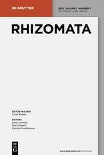 Rhizomata template (De Gruyter)