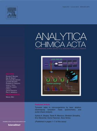 Analytica Chimica Acta template (Elsevier)