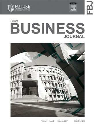 Future Business Journal template (Elsevier)