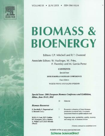 Biomass and Bioenergy template (Elsevier)