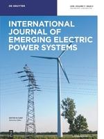 International Journal of Emerging Electric Power Systems template (De Gruyter)