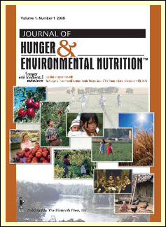 Journal of Hunger and Environmental Nutrition template (Taylor and Francis)