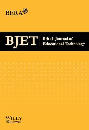 British Journal of Educational Technology template (Wiley)