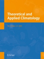 Theoretical and Applied Climatology template (Springer)