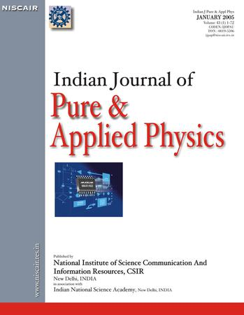 Indian Journal of Pure & Applied Physics (IJPAP) template (NISCAIR Publications)