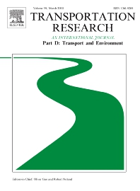 Transportation Research Part D: Transport and Environment template (Elsevier)