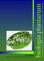 Biologia Plantarum template (Springer)