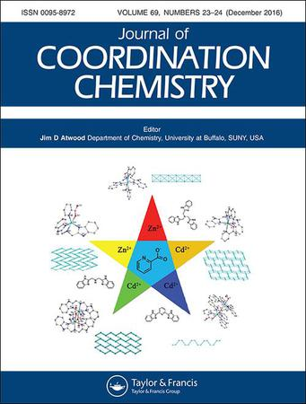 Journal of Coordination Chemistry template (Taylor and Francis)