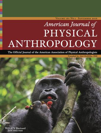 American Journal of Physical Anthropology template (Wiley)