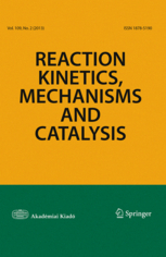 Reaction Kinetics, Mechanisms and Catalysis template ( Mechanisms and Catalysis)
