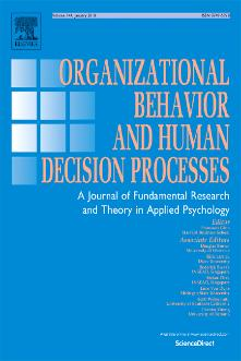 Organizational Behavior and Human Decision Processes template (Elsevier)