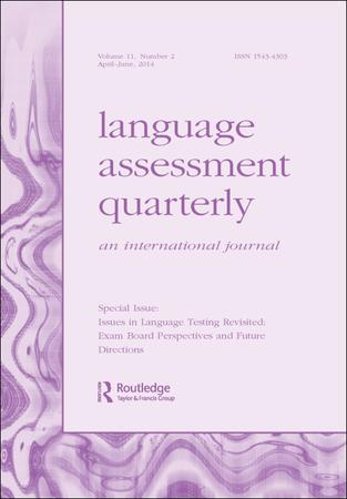 Language Assessment Quarterly template (Taylor and Francis)
