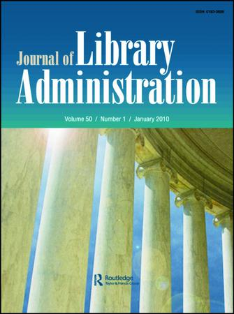 Journal of Library Administration template (Taylor and Francis)