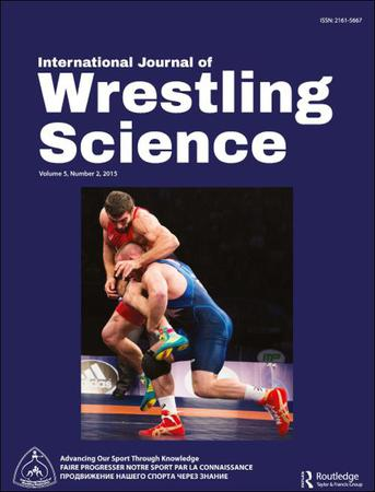 International Journal of Wrestling Science template (Taylor and Francis)