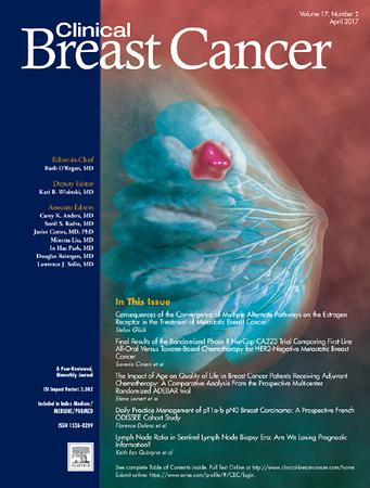 Clinical Breast Cancer template (Elsevier)
