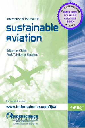 International Journal of Sustainable Aviation template (Inderscience Publishers)