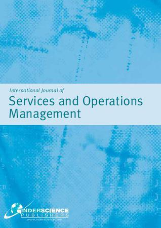 International Journal of Services and Operations Management template (Inderscience Publishers)