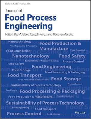 Wiley Journal Of Food Process Engineering Template