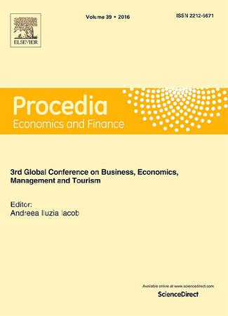 Procedia Economics and Finance template (Elsevier)