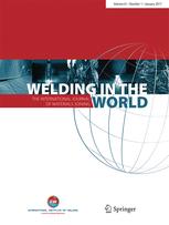 Welding in the World template (Springer)